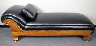 Leather Sofa Refinishing Refinished Antique Oak Recycled Leather Fainting Couch Furniture