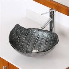 Lowes Vessel Vanity Kitchen Room Magnificent Vessel Sink With Faucet Stone Vessel