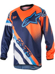 where to buy motocross gear alpinestars blue orange aqua 2018 racer supermatic mx jersey