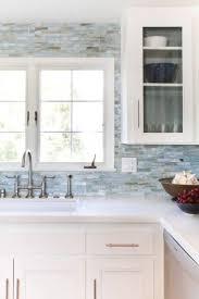 White Kitchens Backsplash Ideas Kitchen Glass And Metal Backsplash Glass Backsplash White