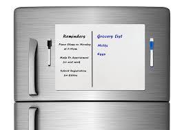 fridge white board freezerboy fridge magnets dry erase board
