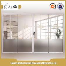 factory wholesale soundproof interior sliding door room dividers