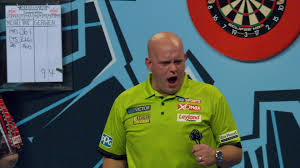 michael van gerwen starts world matchplay title defence with win