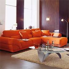 canapé d angle orange atlas produits canapes d angle