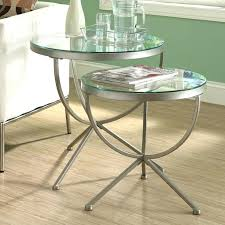 mirrored round end table full image for gold round mirror side