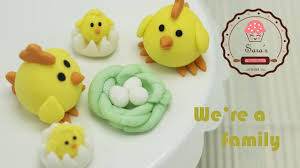 Easter Chicks Cake Decorations by Easy Simple Cute Cake Topper Youtube