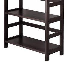 Bookshelf 3 Shelf 3 Shelf Bookcase Storage Modern Bookshelf Book Shelves Solid Wood