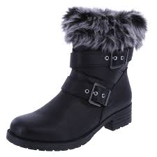 comfortable moto boots mid boots womens shoes payless shoes