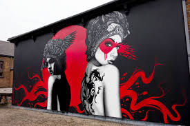 fin dac and eelus collaborate on west london street art cube breaker fin dac and eelus street art