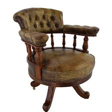 Cheap Antique Furniture by 86 Off Antique Antique Leather Captain U0027s Chair Chairs
