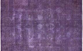 Lilac Rug Oriental Overdyed Purple Rug 7 X 10 P2457