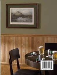painting wood paneling half wall for the home pinterest