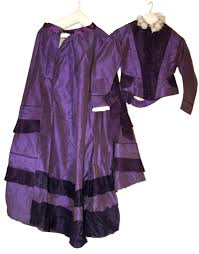Tyrian Purple Costume And Textile Collections Mauve Dress