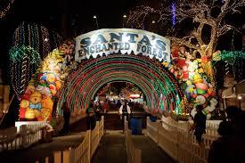 enchanted forest christmas lights santa s enchanted forest tropical park christmas community