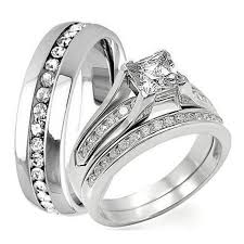 cheap wedding bands for him and men and women wedding band set sang maestro