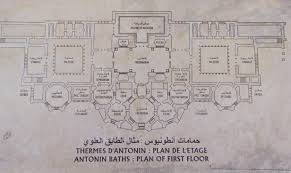 floor plan of a roman villa ancient everyday u2013 time for a bath