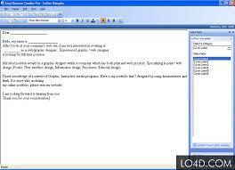Easy Resume Creator by Easy Resume Creator Pro 4 22 Registration Key Lo4d Com