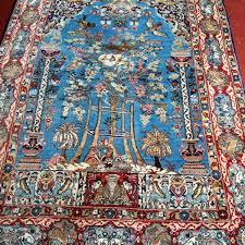 Silk Oriental Rugs Persian Isfahan Meditation Rug Wool U0026 Silk U2013 A1107 Ward U0027s