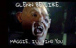 Glenn Walking Dead Meme - the walking dead season 7 premiere best meme reactions