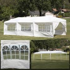 tent for party belleze 10 ft w x 30 ft d steel party tent reviews wayfair