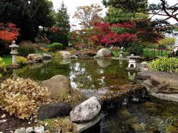 japanese water garden with japanese ornaments splendid japanese