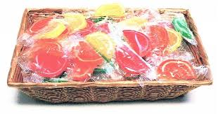 diabetic gift basket soft gummis fruit slices sugar free