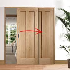 easi slide oak panel easi slide oak room divider door system