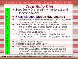 zero belly diet david zinczenko 2014
