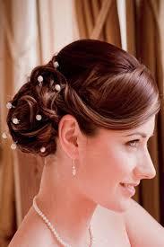 bridal hairstyles medium length 21 best flower hair ideas brides maids ideas images on