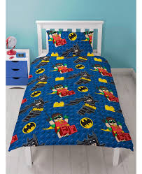 Batman Double Duvet Cover Lego Batman Movie Single Doona Cover Licensed Kids