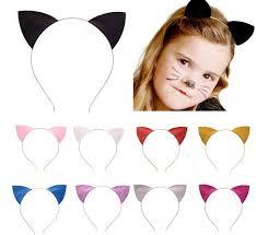 cosplay catwomen headbands adults kids glitter cat ears halloween
