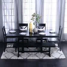 Black Gloss Dining Room Furniture Barocco Black Dining Room Furniture Black Contemporary Dining Room