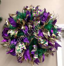 deco mesh supplies 40 best mardi gras images on wreaths deco mesh and