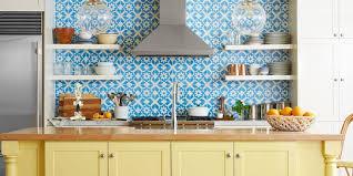 cool kitchen backsplash tiles install glass 4 x 4 blue white