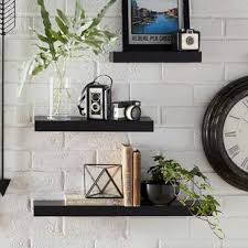 living room wall shelves 3 piece wall shelf wayfair