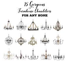 15 gorgeous farmhouse chandeliers for any home hello farmhouse