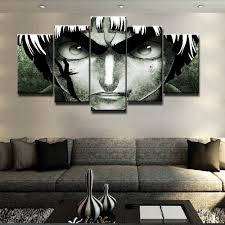 aliexpress com buy sel 5 piece canvas art naruto modern