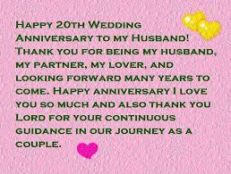 20th wedding anniversary happy 20th anniversary quotes wishes and images