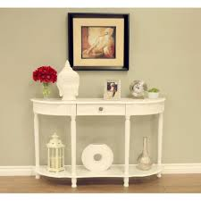 homecraft furniture white storage console table wh1598 the home