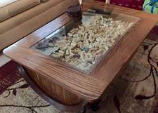 glass shadow box coffee table shadow box table ebay