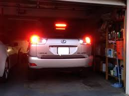 warning lights on lexus rx 350 diy with pictures rx330 license plate led bulbs clublexus