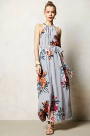 anthropologie three act maxi dress i absolutely adore adore
