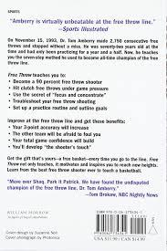 free throw 7 steps success free throw tom amberry