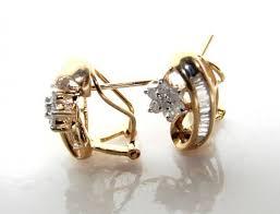 rositas earrings rosita diamond earrings 50 ct 14k yellow gold
