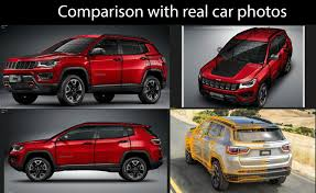 3d model jeep compass 2017 cgtrader