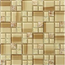 Backsplash Tile Paint by Crackle Glass Tile Hand Paint Cystal Glass Resin With Shell Tile