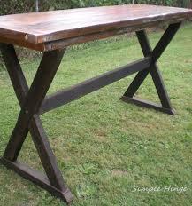 Outdoor Bar Table Custom Bar Height Table Simple Hinge Llc
