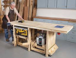 richard tendick u0027s power tool bench u2013 plans at popular woodworking