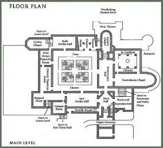 met museum floor plan the compleat traveller the cloisters fort tryon park manhattan