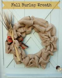 how to make a burlap wreath with step by step bow